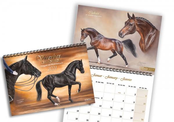 Vererberlegenden 2021 | Broschürenkalender