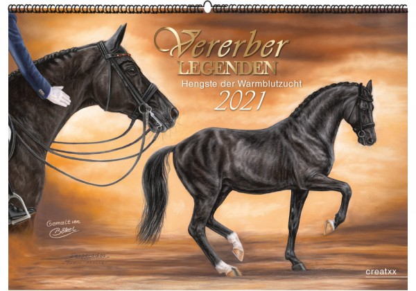 Vererberlegenden 2021 | Wandkalender