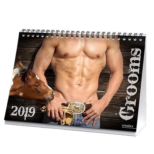 Grooms 2019 Tischkalender