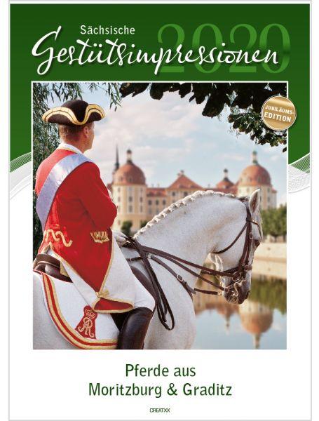 Sächsische Gestütsimpressionen 2020 - Pferde aus Moritzburg und Graditz - Jubiläumsedition