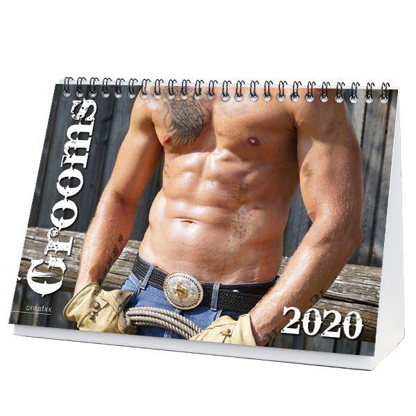 Grooms 2020 Tischkalender