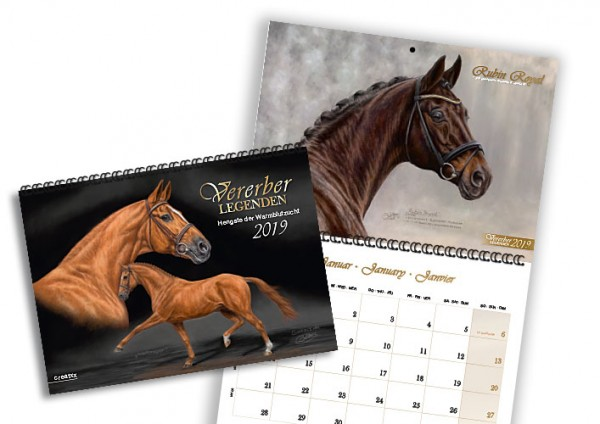 Vererberlegenden 2019 Broschürenkalender