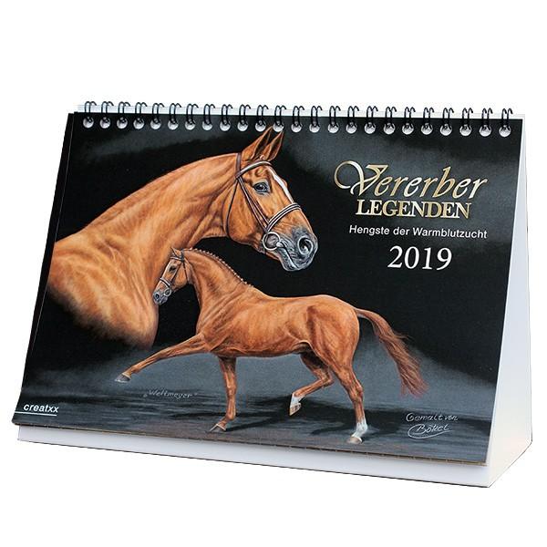 Vererberlegenden 2019 Tischkalender